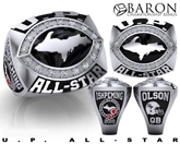U.P. Football All-Star Game Ring